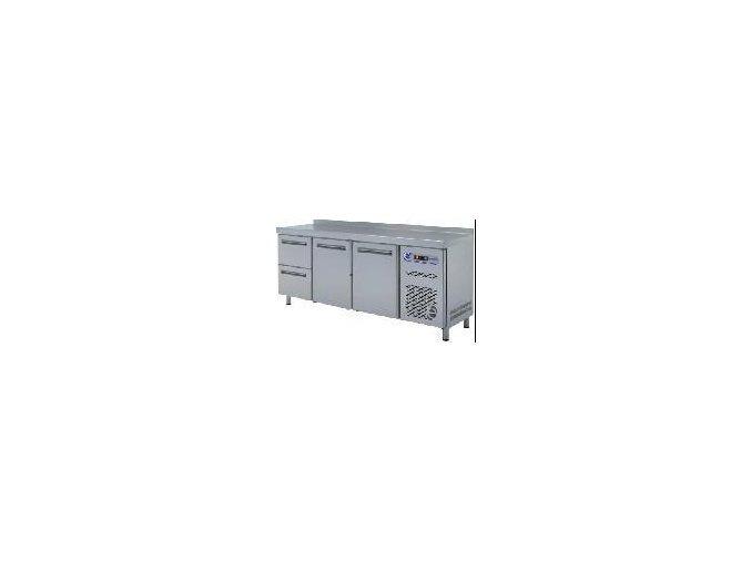 Chladící stůl 2 dveře a 2 zásuvky