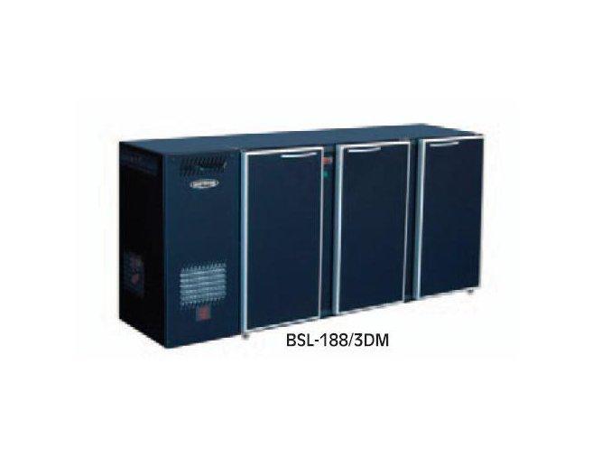 Chladící stůl barový BSL-214/3DX