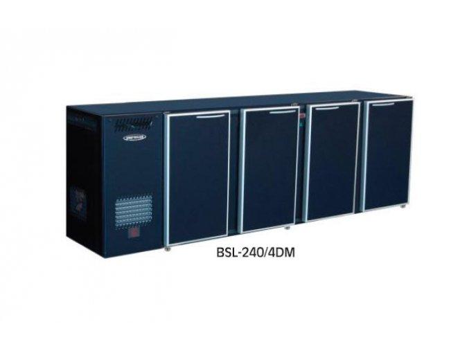 Chladící stůl barový BSL-240/4DM