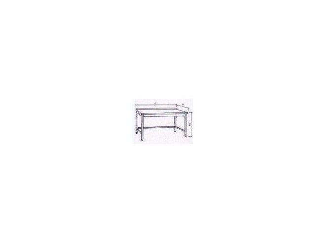 Pracovní stůl bez police 190x60x85cm