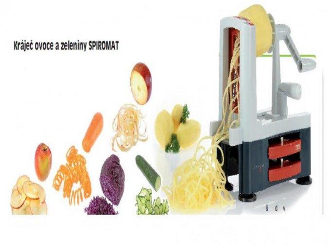 Kráječ ovoce a zeleniny SPIROMAT