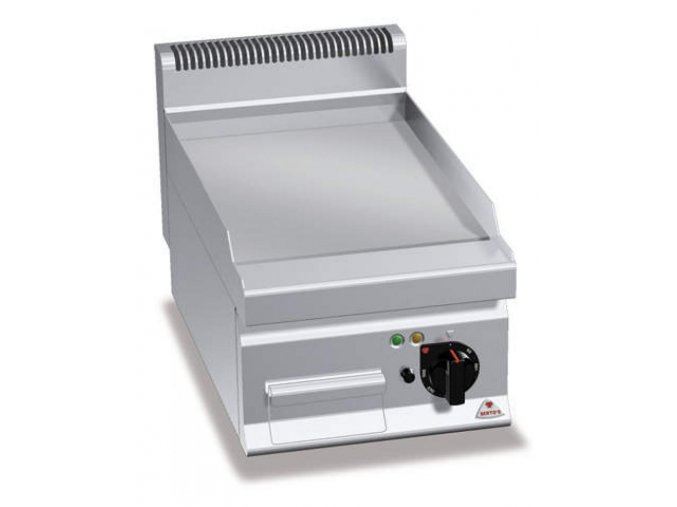 Elektrická grilovací plotna E7FL4BP hladká ( řada 700 )