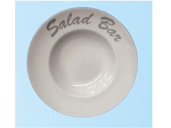 Talíř na saláty kvalitní porcelán