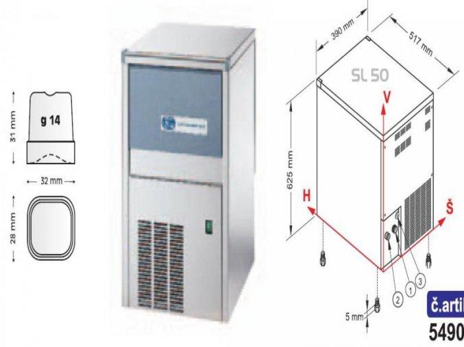 Výrobník ledu SL 50 W