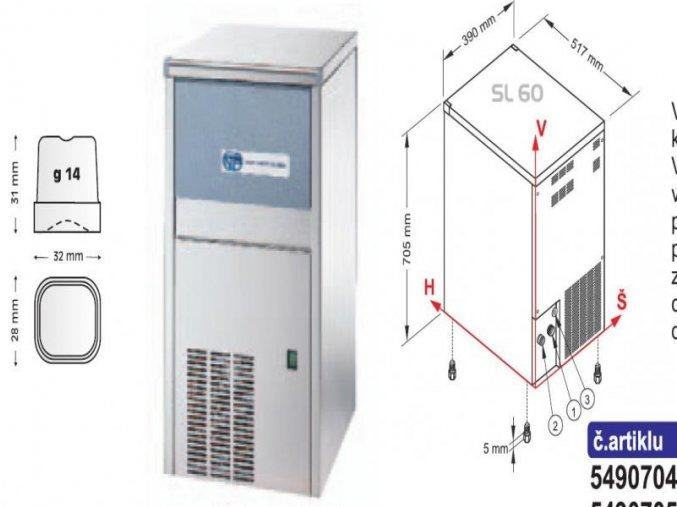 Výrobník ledu SL 60 W
