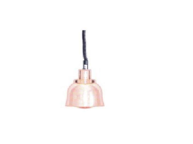 Infra - lampa závěsná - chrom