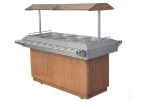 Chladící salátový bar COLD 4xGN1/1