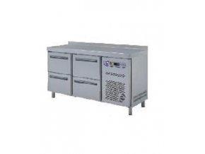 Chladící stůl  GN - 4x zásuvka