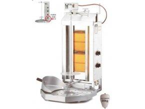 Gyros gril plynový  GD2/MU POTIS 30kg