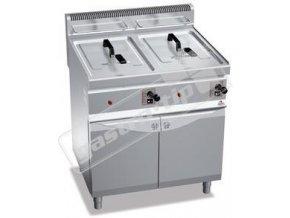Plynová fritéza GL10+10M