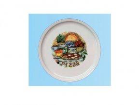 Pizza talíř kvalitní porcelán   pr. 30 cm
