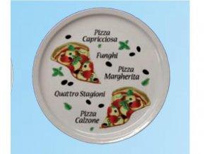 Pizza talíř kvalitní porcelá  pr. 30 cm