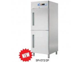 Chladící skříň dvouprostorová GN2/1  SPI-072/2P