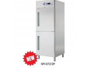 Kombinovaná chladící a mrazící skříň GN2/1 SPNI-072/2P