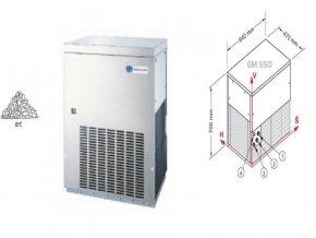 Výrobník ledové drtě GM550 W