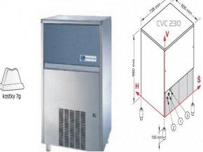 Výrobník ledu CVC 230 W
