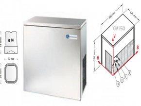 Výrobník nápojového ledu CM 150 A