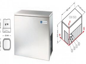 Výrobník nápojového ledu CM 150 W