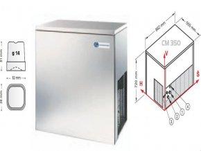 Výrobník nápojového ledu CM 350 A