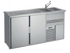 Chladící výčepní stůl s agregátem RBAD-220L