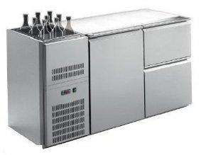 Barový chladící stůl s agregátem RIGD-212E