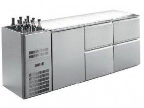 Barový chladící stůl s agregátem RIGD-314E