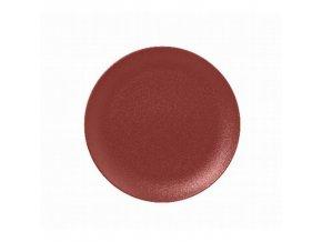 Talíř mělký 15 cm - tmavě červená