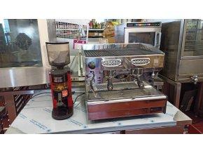 Dvoupákový kávovar včetně mlýnku