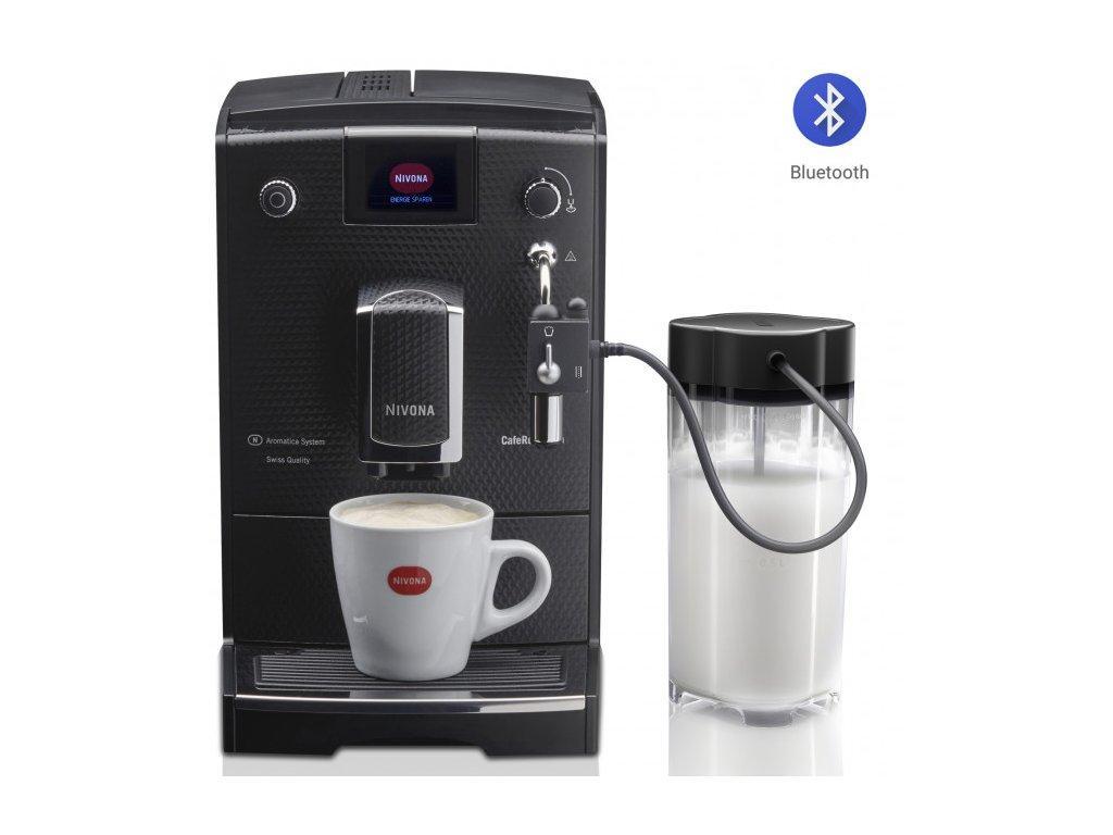 Automatický kávovar NIVONA NICR 680  + 1 kg zrnkové kávy Golden Brasil in Brown ZDARMA