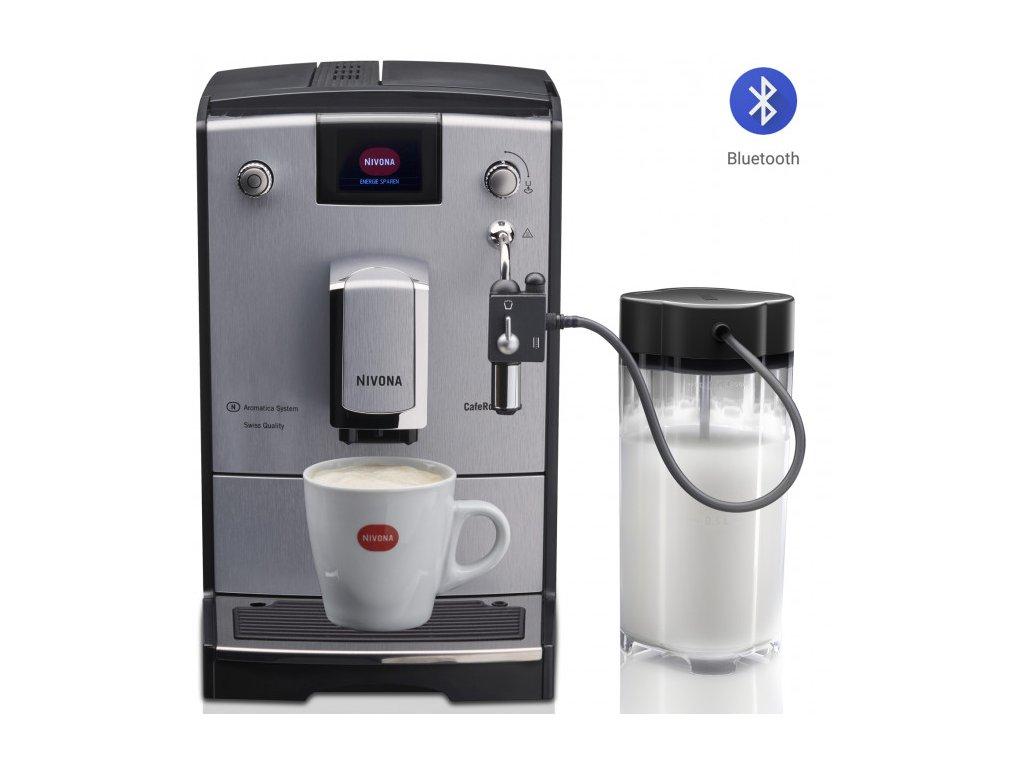 Automatický kávovar NIVONA NICR 670  + 1 kg zrnkové kávy Golden Brasil in Brown ZDARMA