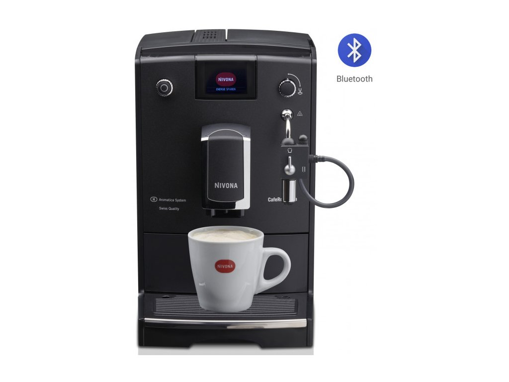Automatický kávovar NIVONA NICR 660  + 1 kg zrnkové kávy Golden Brasil in Brown ZDARMA