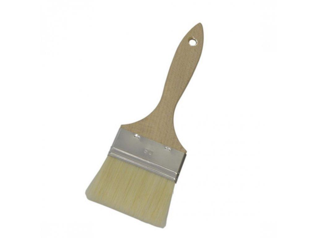 Štětec s dřevěnou rukojetí š. 100 mm