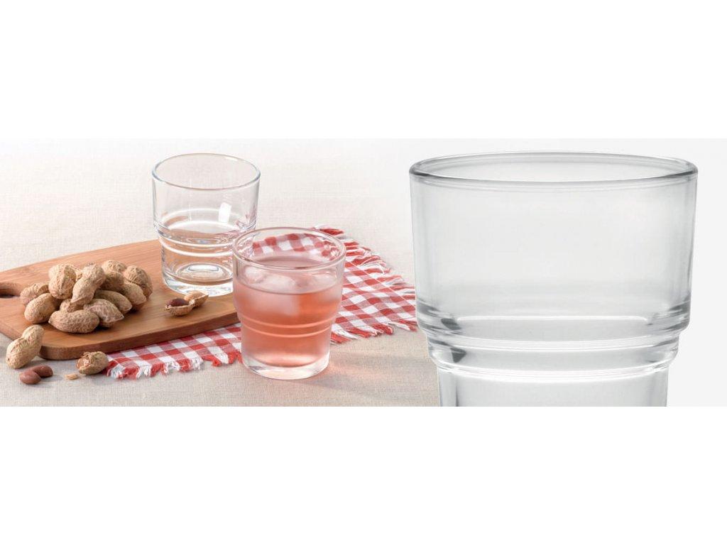 Bistro sklenička stohovatelná 210 ml
