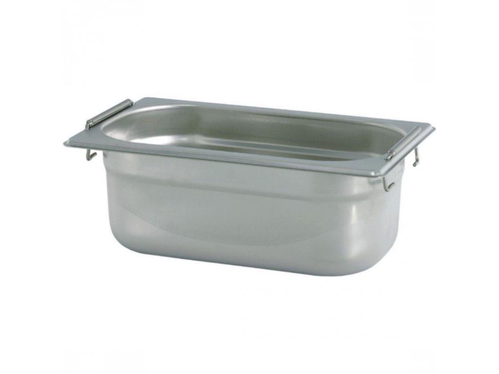 Gastronádoba se sklápěcími úchyty GN 1/4 040 mm
