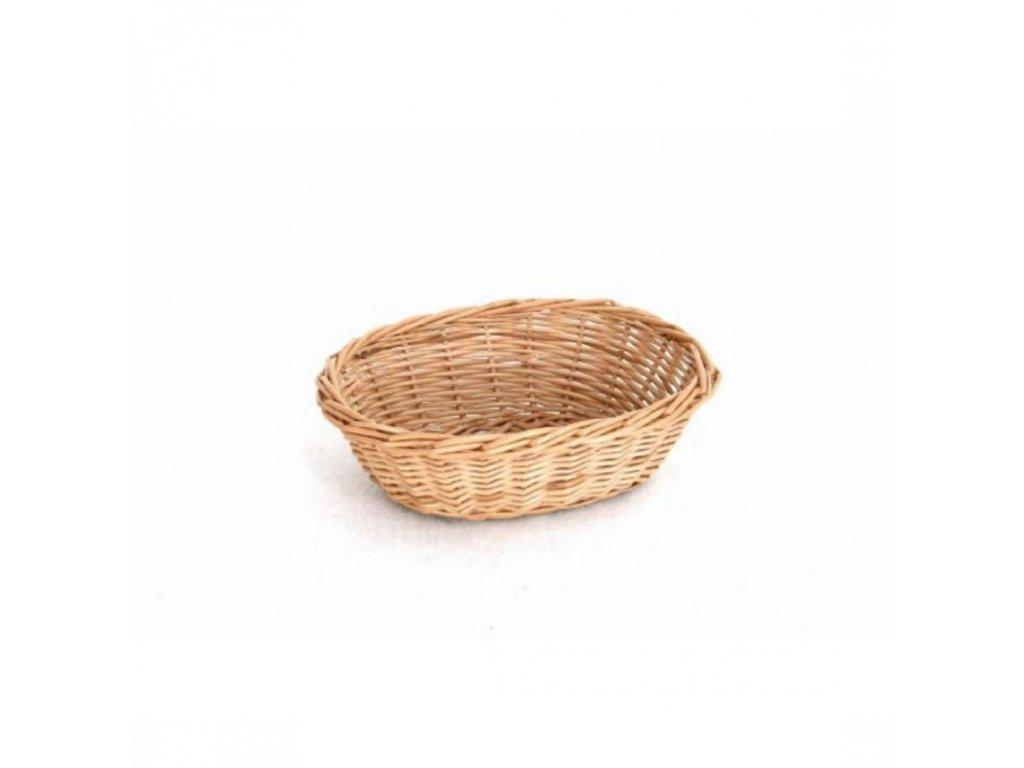 Košík na pečivo oválný
