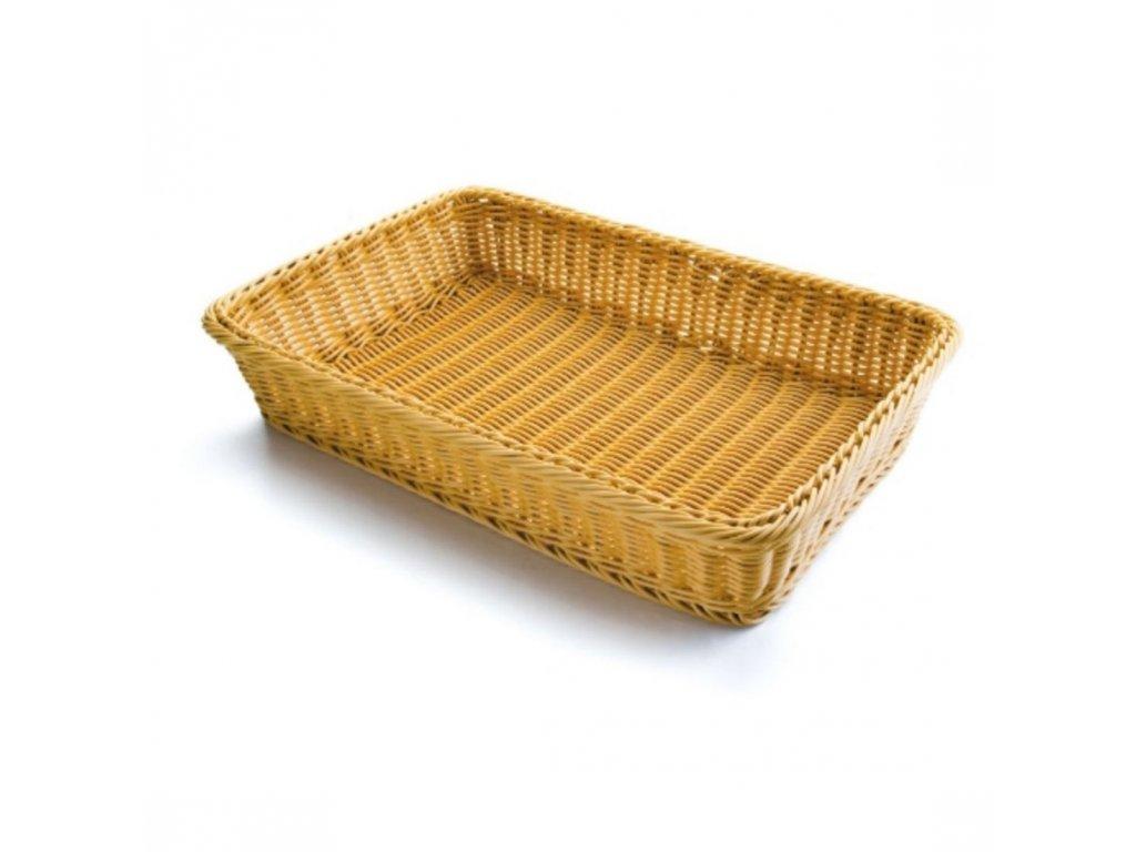 Košík na pečivo polypropylen - obdélný