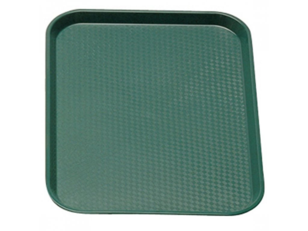 Podnos Fast Food zelený 300 x 410 mm