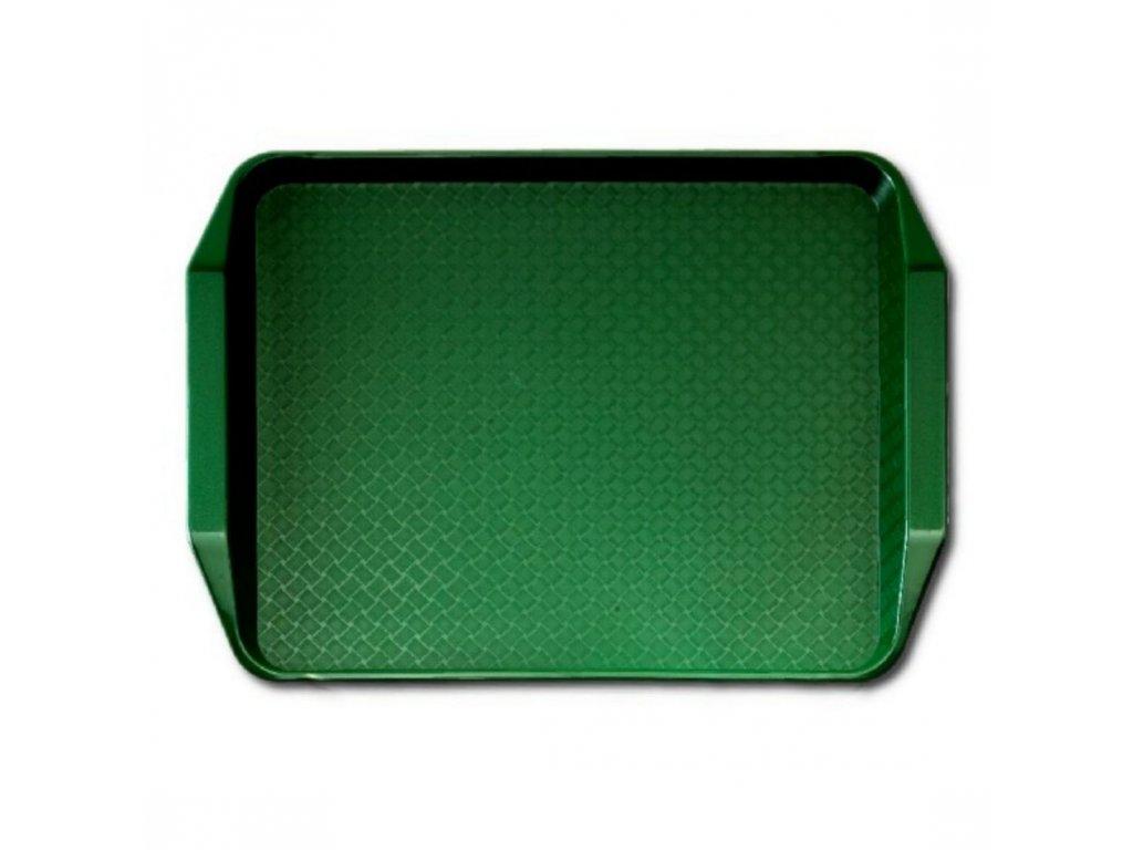 Jídelní podnos Fast Food zelený 300 x 430 mm