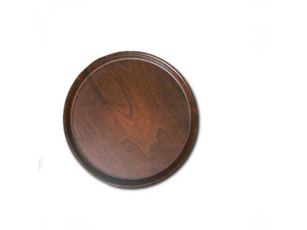 Podnos Mykonos protiskluzový kulatý pr. 38 cm