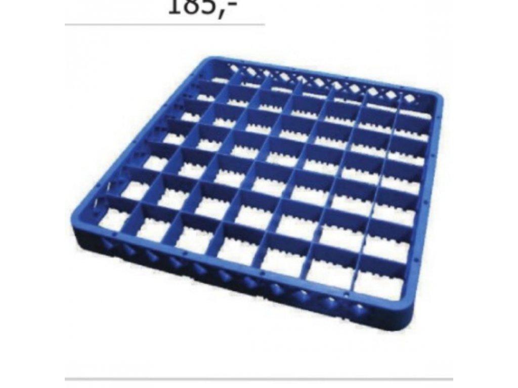 Nástavec 49 pozic 50x50x4,2 cm skla 6,1 cm