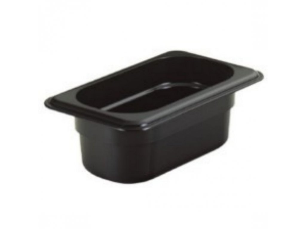 Gastronádoba polykarbonátová GN 1/1 100, černá