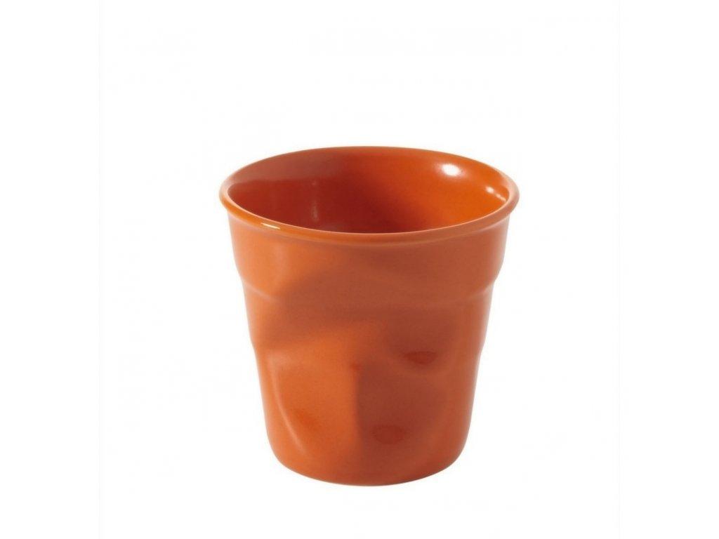 Pohárek Froisses oranžový 80ml