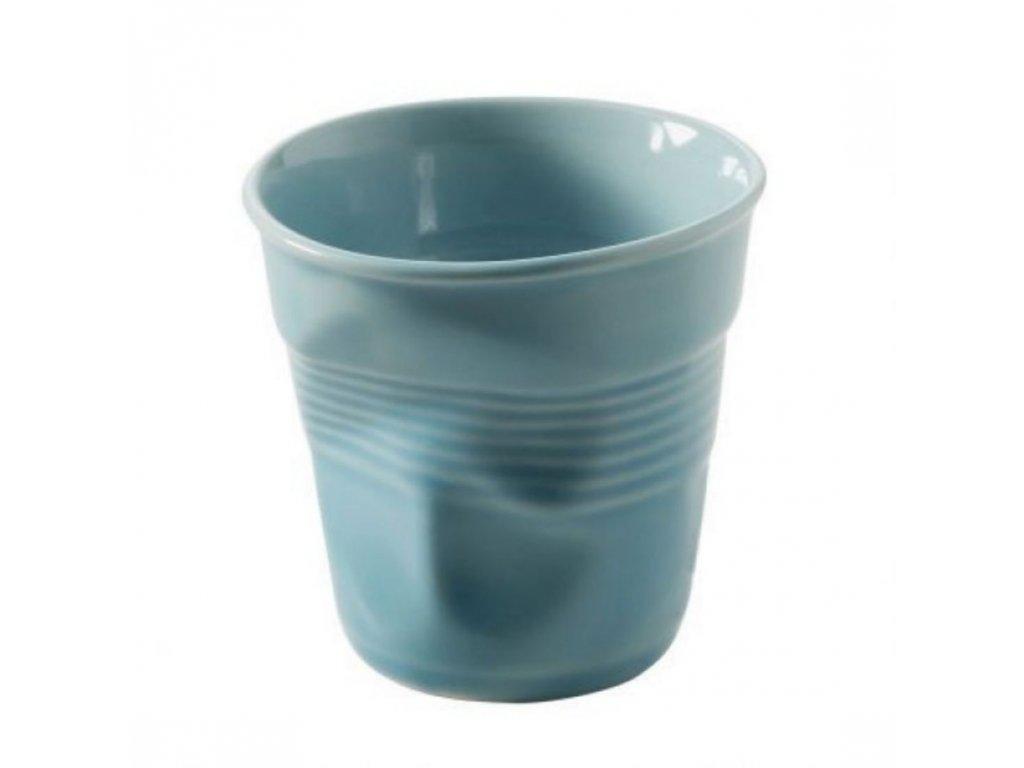 Hrnek Froissé karibská modrá 180 ml