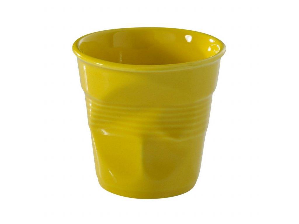Pohárek Froisses žlutá 180ml