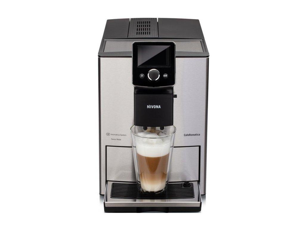Automatický kávovar NIVONA NICR 825  + 1 kg zrnkové kávy Golden Brasil in Brown ZDARMA