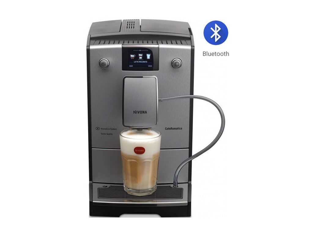 Automatický kávovar NIVONA NICR 769  + 1 kg zrnkové kávy Golden Brasil in Brown ZDARMA