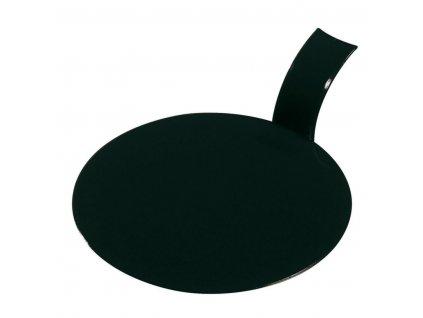 Tácek kulatý černý, balení 100ks