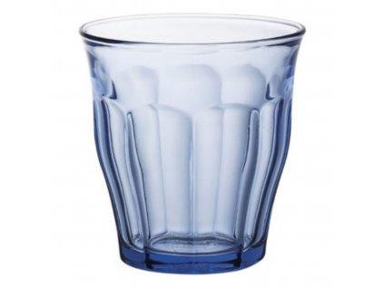 Picardie sklenice modrá 250 ml