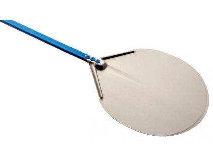 Lopata na pizzu nerezová, pr. 33, délka 180 cm