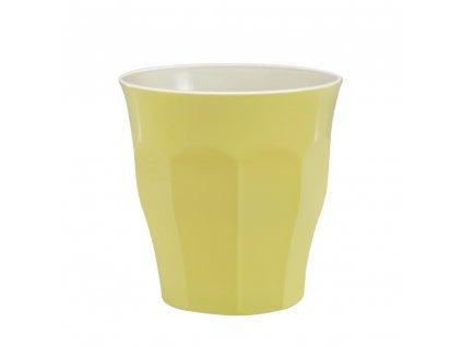 Duritka Pastel sklenice žlutá 220 ml